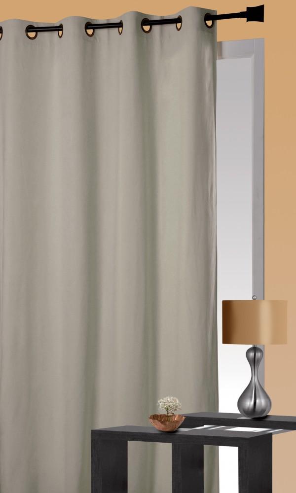 Rideau Isolant Thermique - Lin - 140 x 260 cm