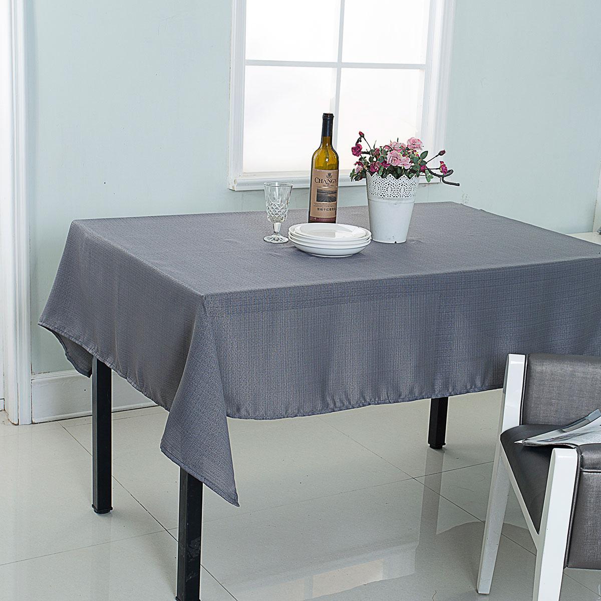 Nappe Anti-Taches - Gris clair - 140 x 240 cm