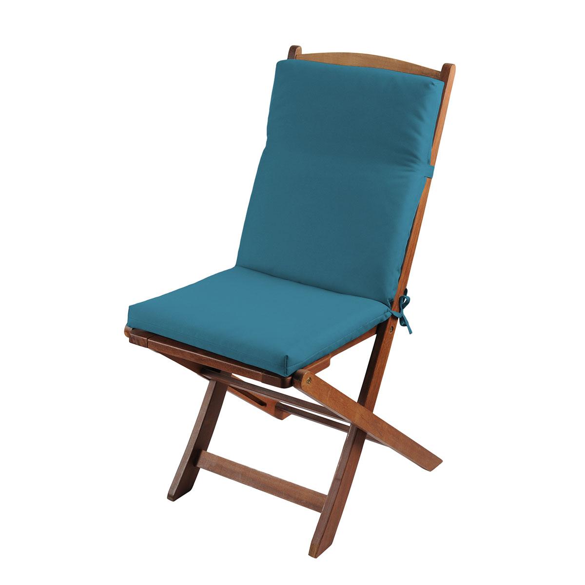 Coussin de fauteuil outdoor coloré - Canard - 40 x 90 cm