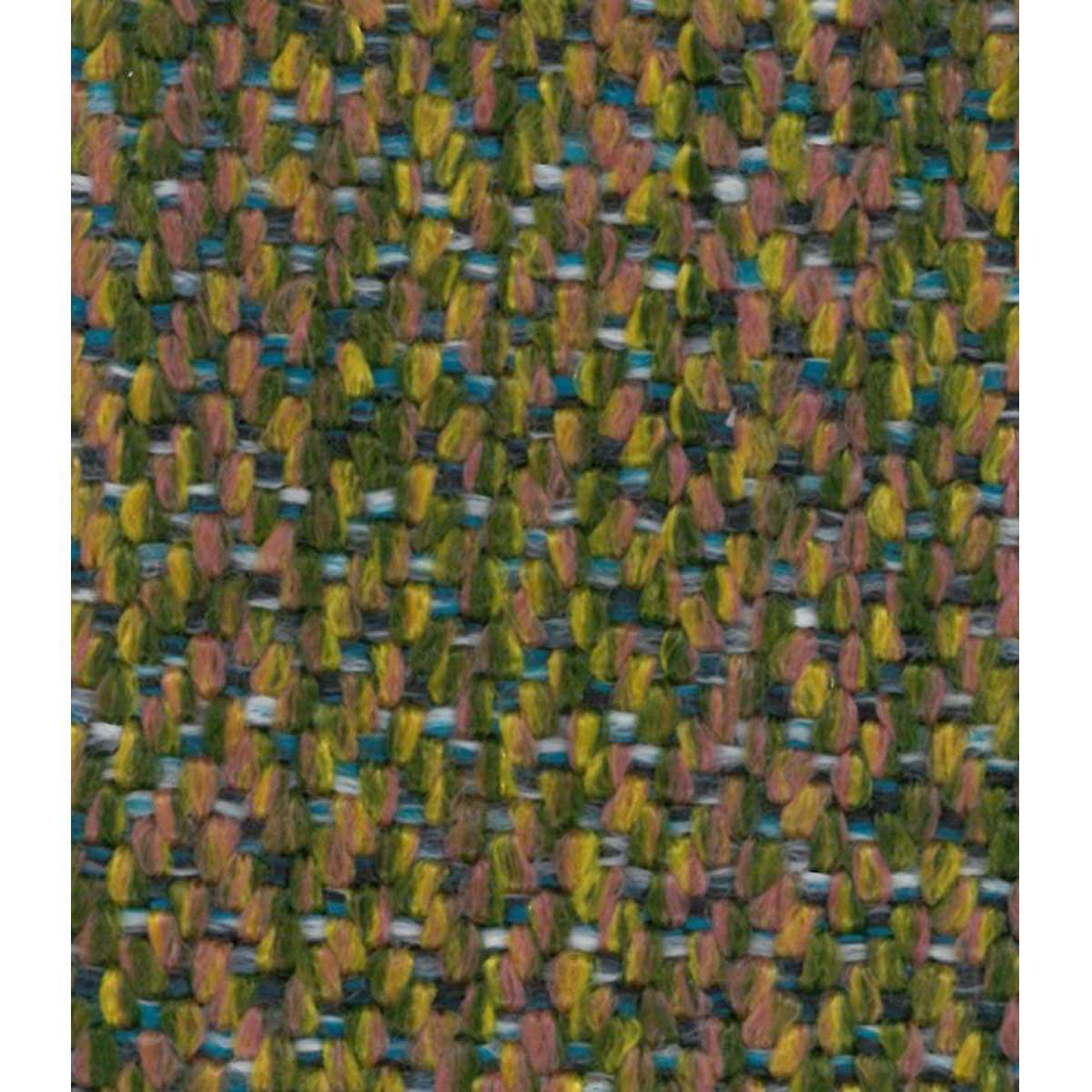 Tissu outdoor effet lainage - Vert mousse - 1.4 m
