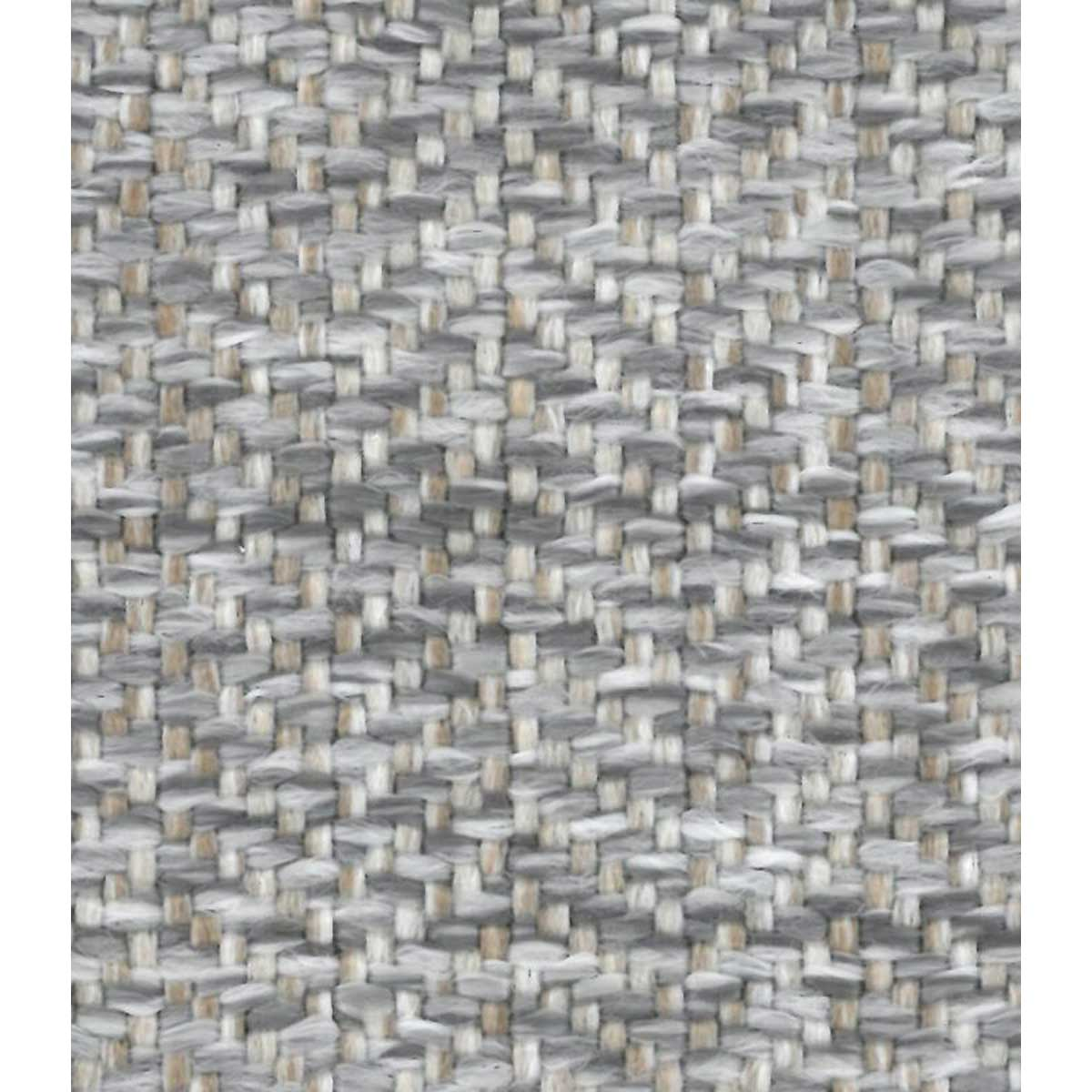 Tissu outdoor effet lainage - Gris - 1.4 m