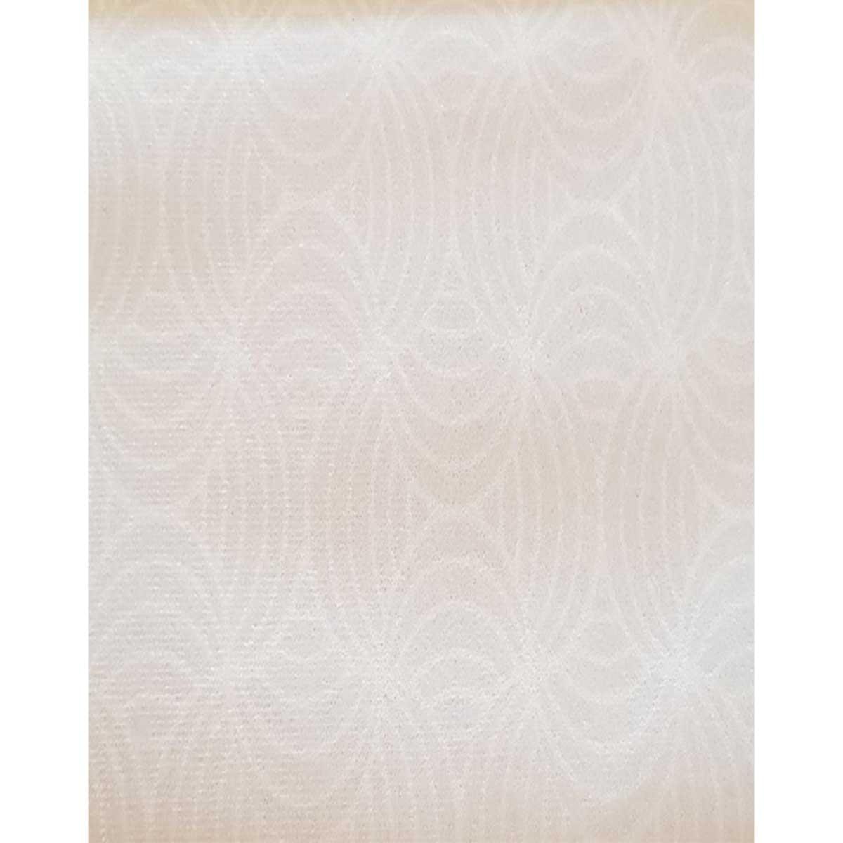 Tissu déperlant imprimé géométrique - Ecru - 1.55 m