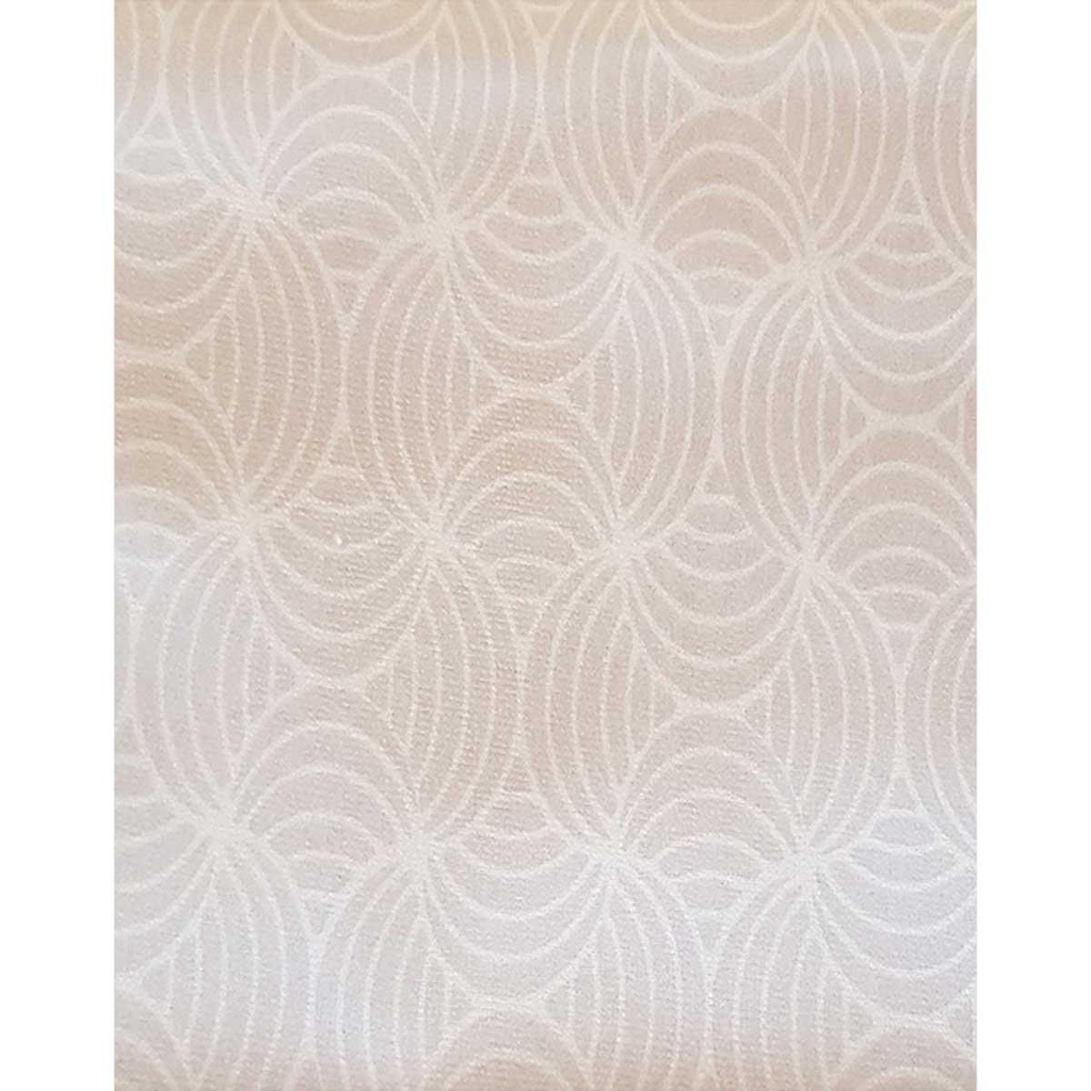 Tissu déperlant imprimé géométrique - Gris - 1.55 m