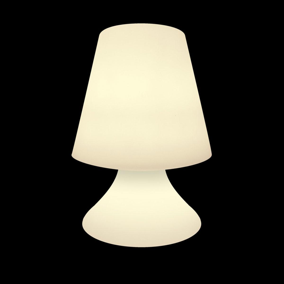 Petite lampe d'extérieur à leds - Blanc - 27.00 cm x 27.00 cm x 38.00 cm