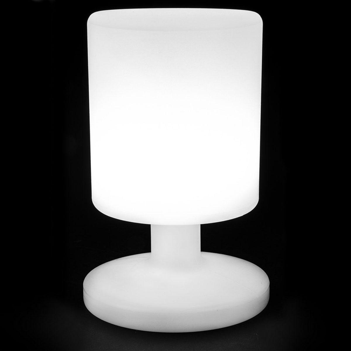 Lampe à leds rechargeable (usb) - Blanc - 15.00 cm x 15.00 cm x 26.00 cm