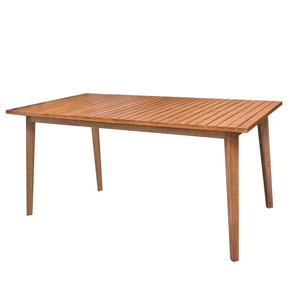 Table rectangulaire en acacia (Naturel)
