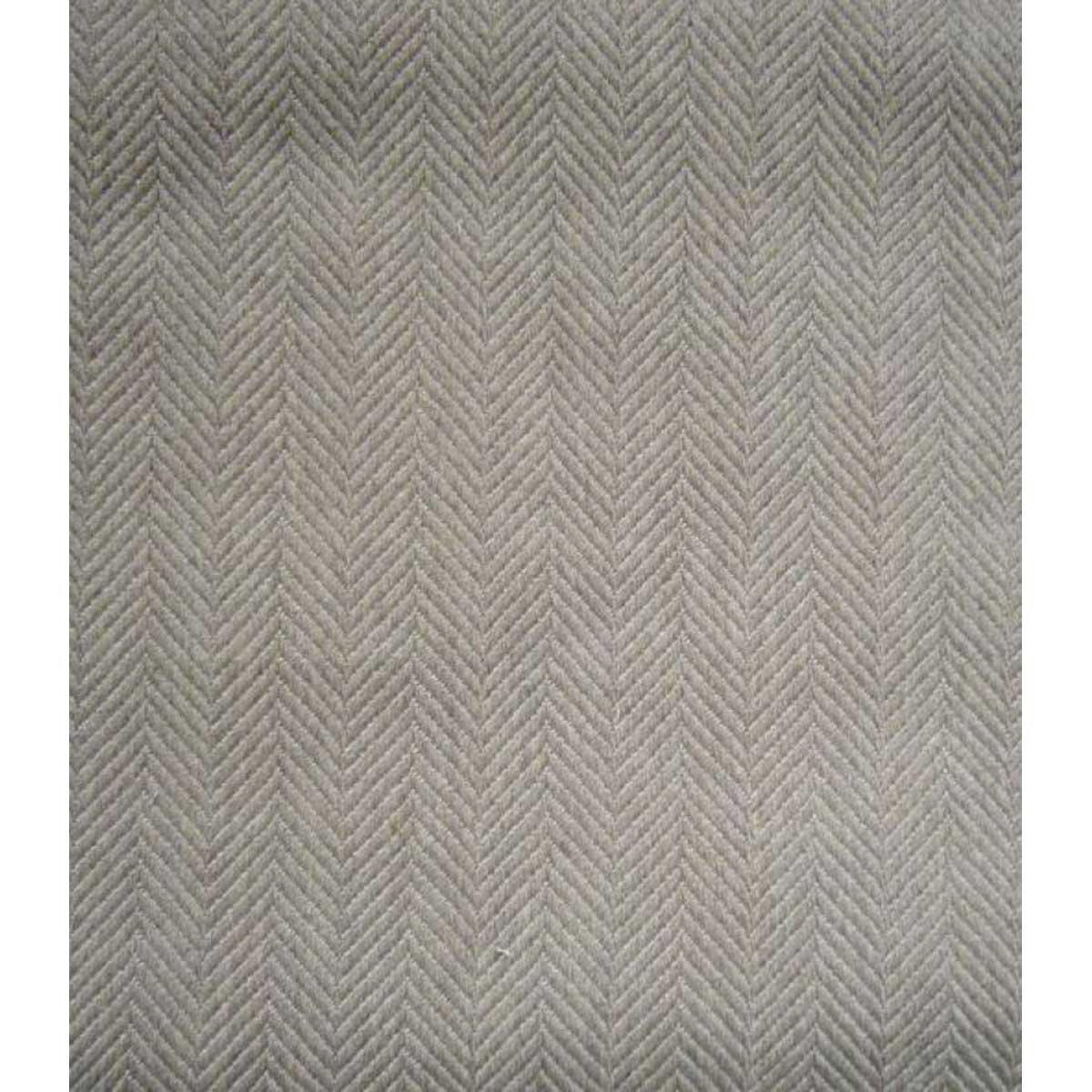 Tissu à tissage chevrons - Gris clair - 2.8 m
