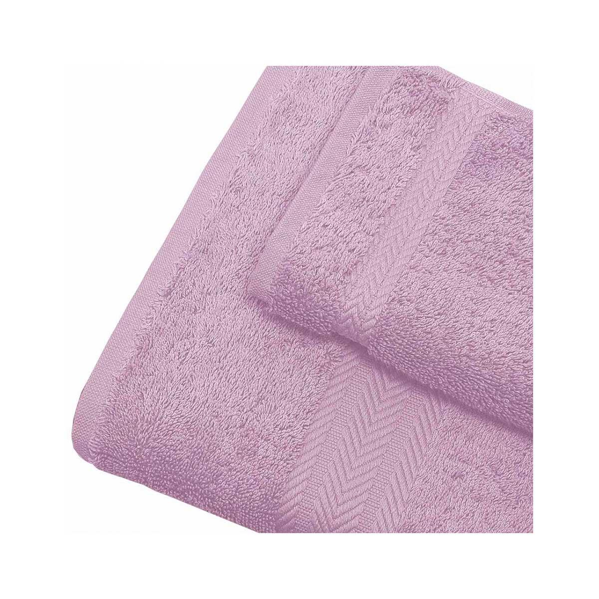 Linge de bain en coton 550gr/m² parme (Parme)