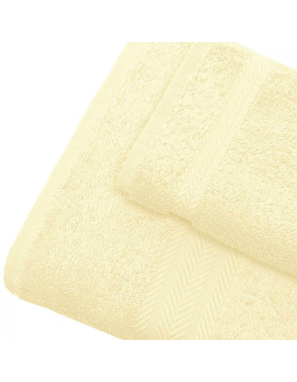 Linge de bain en coton 550gr/m² écru (Ecru)