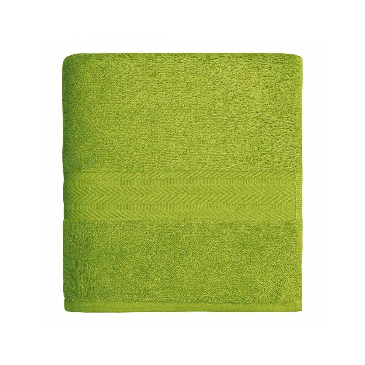 Serviette de toilette en coton 550gr/m² pomme - Pomme - 50 x 100 cm
