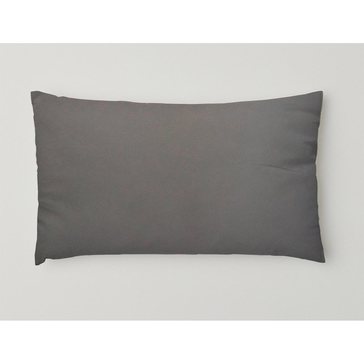 Housse de coussin d'extérieur en tissus outdoor (Gris)