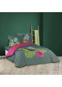 Parure de lit feuillages et toucan