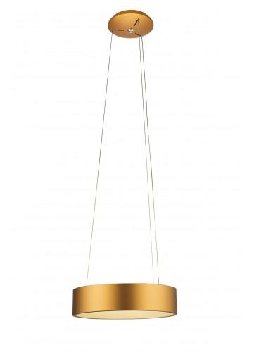 Suspension Moderne à Leds Intégrées - Or - D 59 cm