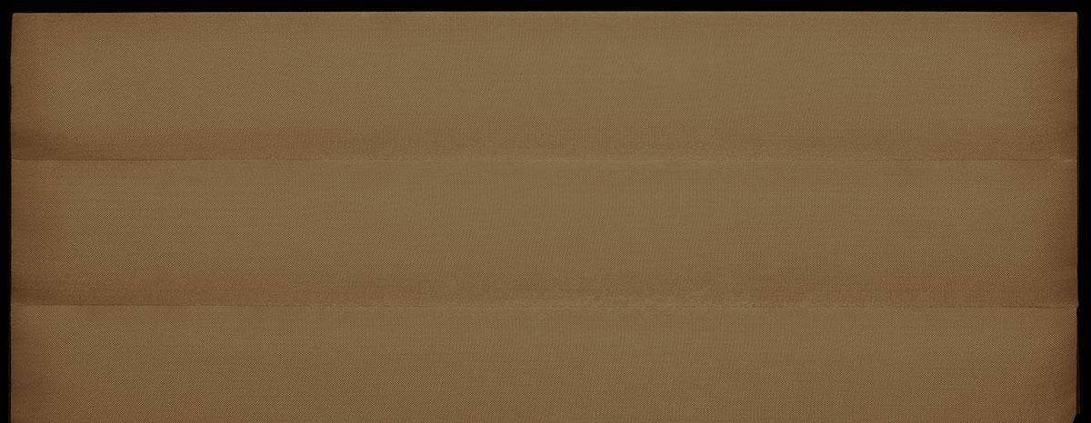 Tête de Lit à Bandes Horizontales en Velours Mat - Lin - 140 x 120 cm