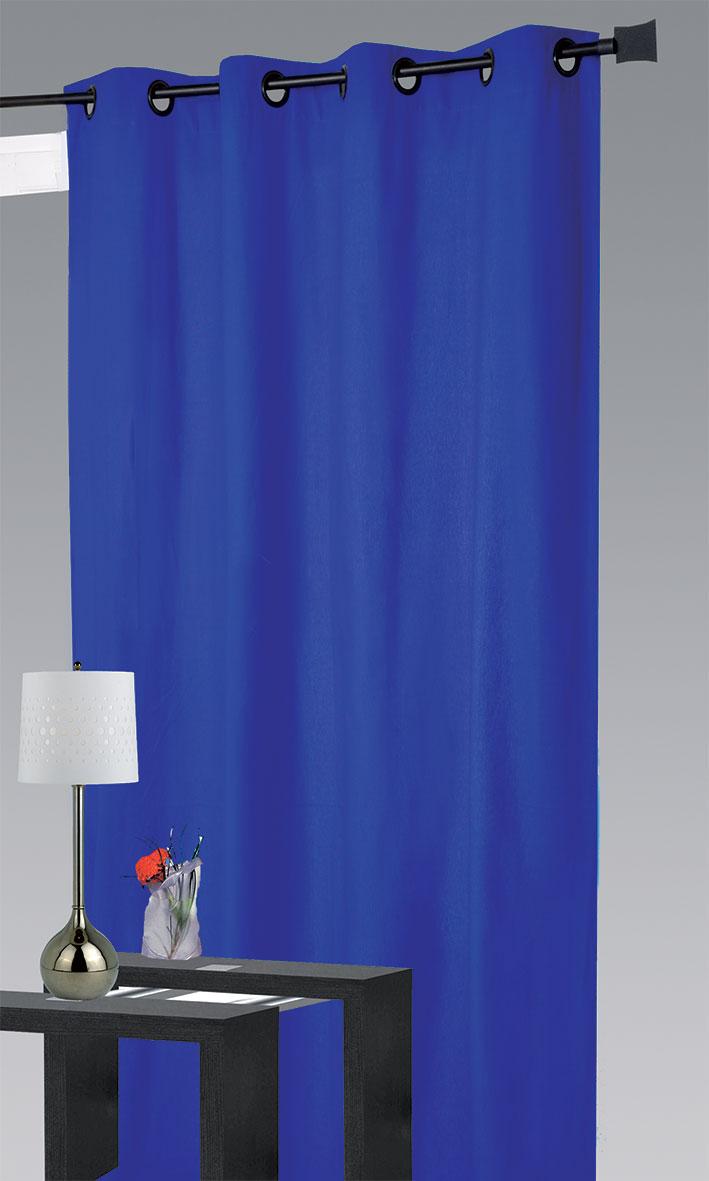 rideau ameublement 80 occultant bleu noir bordeaux ivoire anis taupe ecru. Black Bedroom Furniture Sets. Home Design Ideas