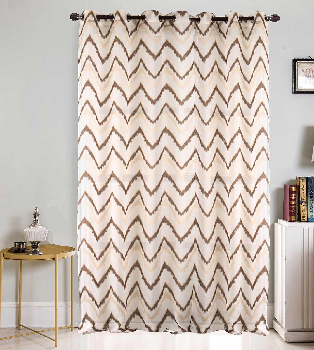 voilage grande largeur esprit ethnique choco fuchsia noir blanc gris homemaison. Black Bedroom Furniture Sets. Home Design Ideas