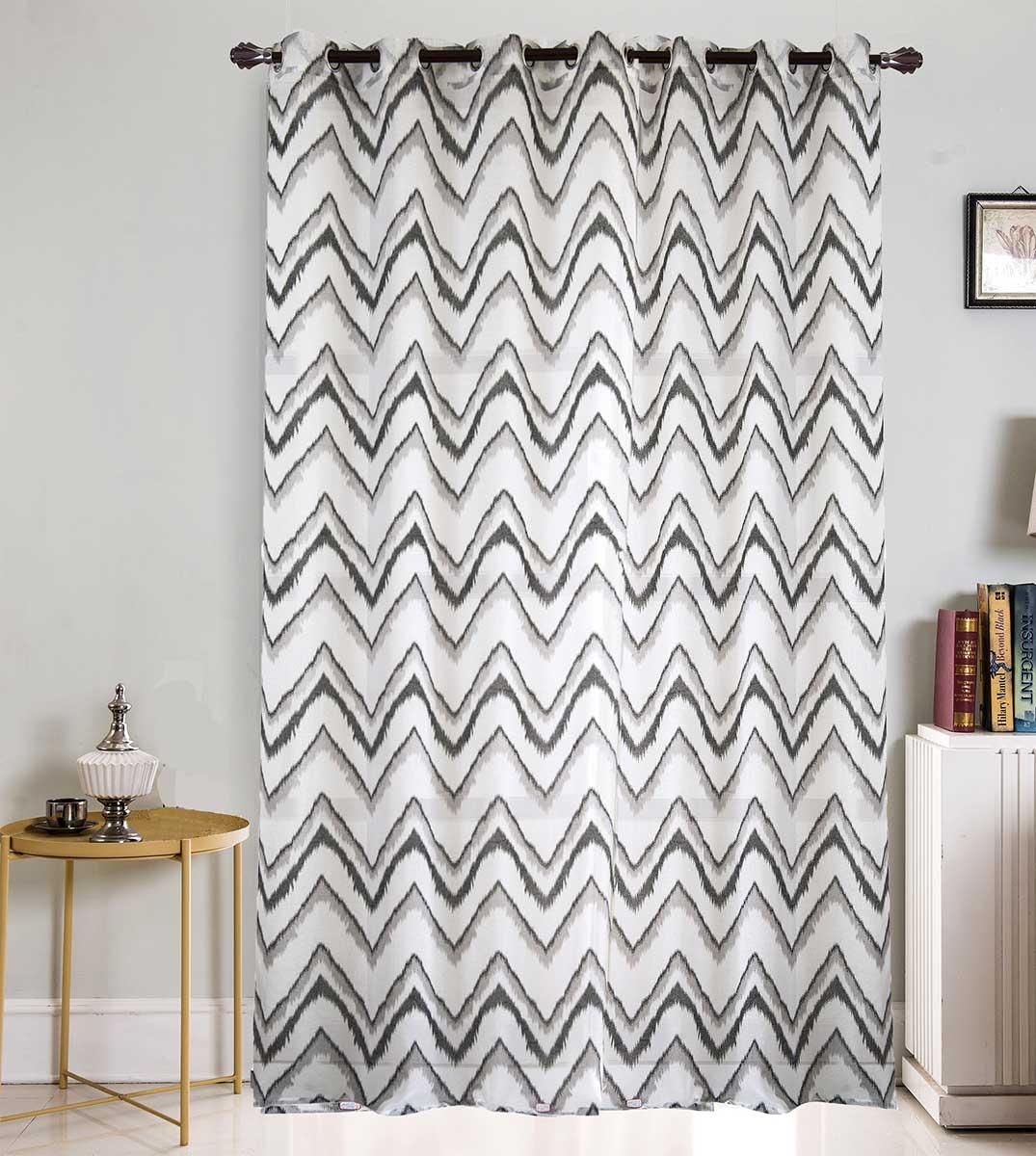 voilage grande largeur esprit ethnique gris fuchsia choco noir blanc homemaison. Black Bedroom Furniture Sets. Home Design Ideas