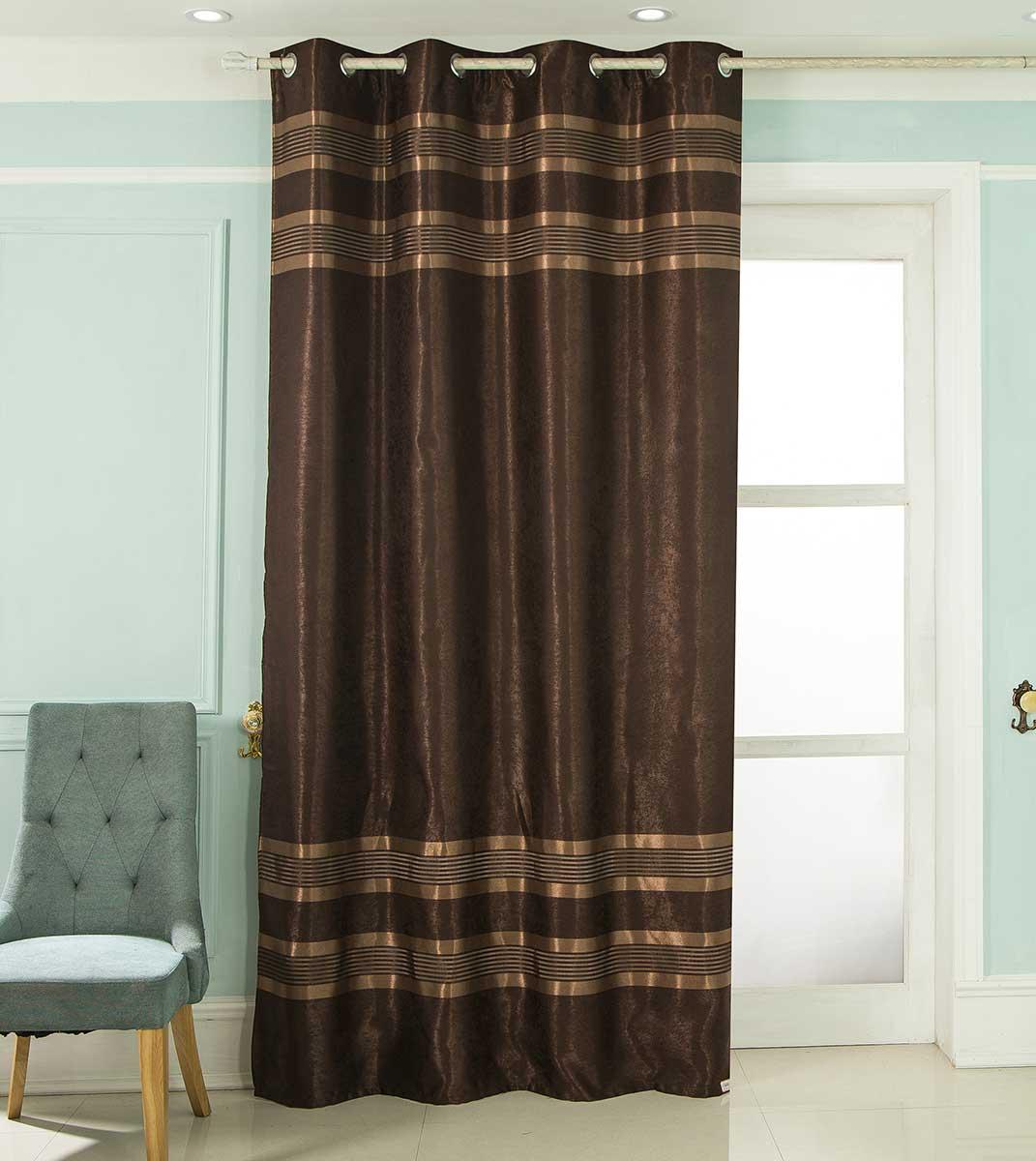rideau occultant rayures chocolat noir bordeaux rouge taupe gris orange. Black Bedroom Furniture Sets. Home Design Ideas