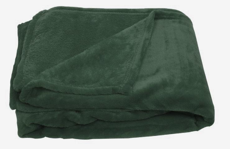plaid en polaire uni vert bleu marine noir blanc beige rouge bleu gris. Black Bedroom Furniture Sets. Home Design Ideas