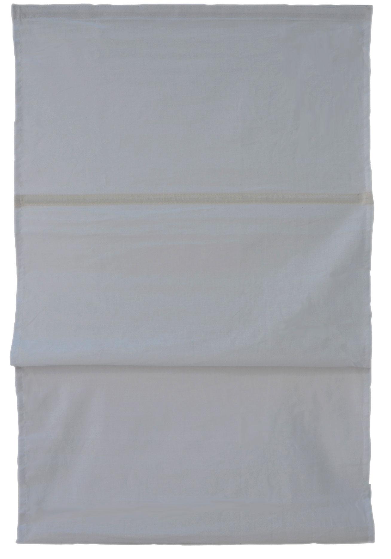 Store Bateau Uni 100% Coton (Gris)