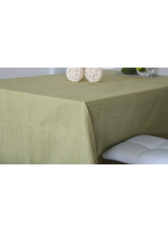 Nappe Rectangulaire en Coton 100% Recyclé (Tilleul)