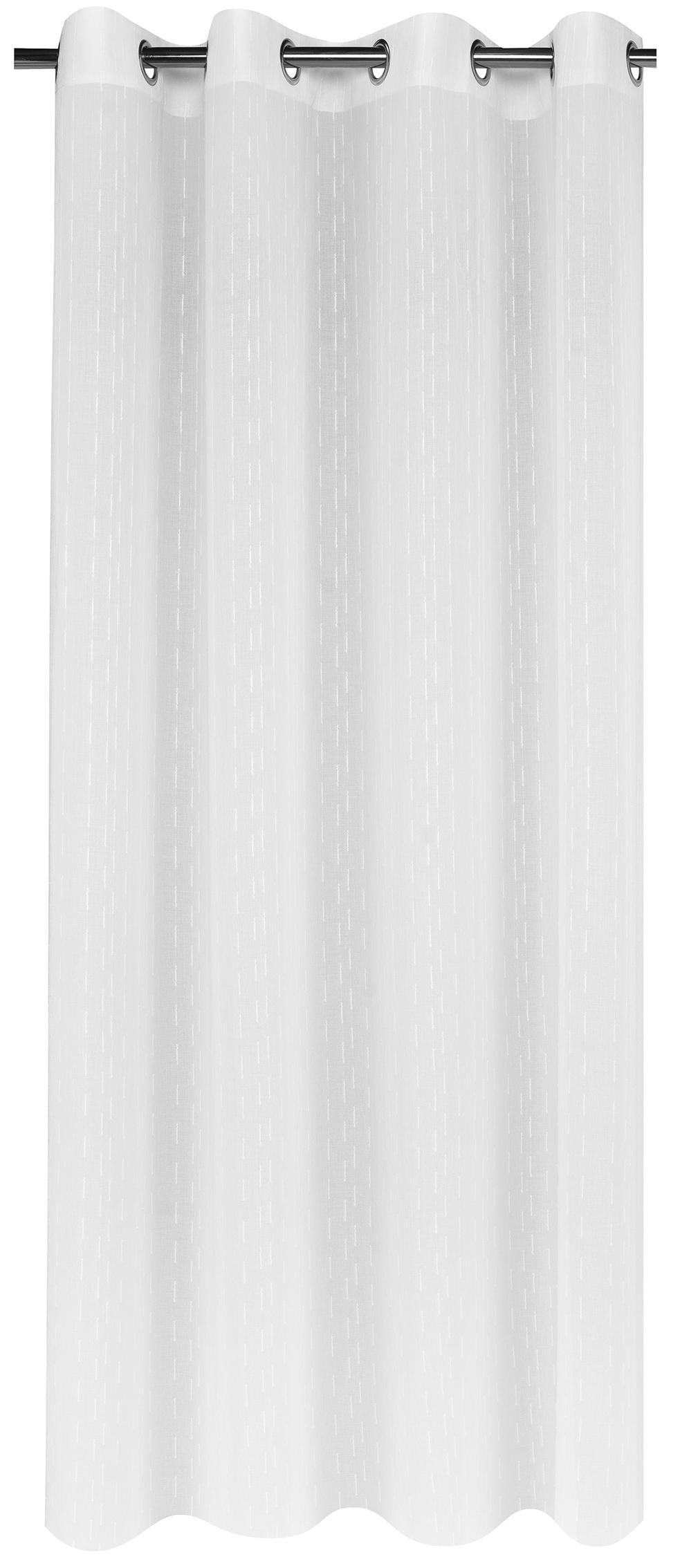 voilage jacquard avec motifs b tonnets blanc beige taupe gris chocolat violet. Black Bedroom Furniture Sets. Home Design Ideas