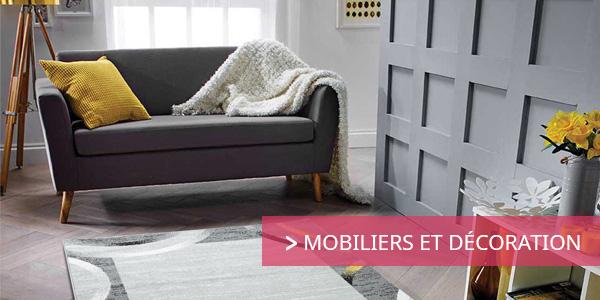 Soldes mobiliers et décoration