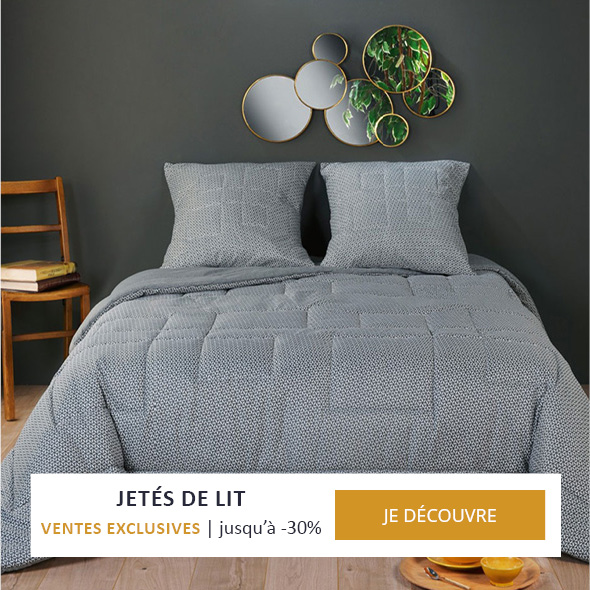 Jetés de lit