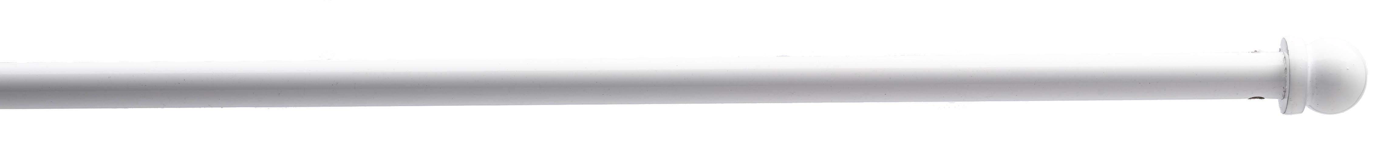 Barra de cortina redonda blanco blanco cortina casa venta en l nea de barra para visillos - Barras para visillos ...