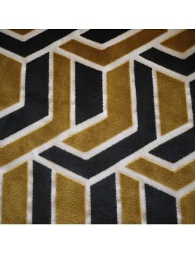 Tissu lourd à motifs géométriques