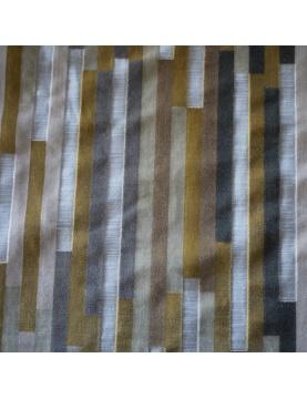 Tissu lourd à motifs linéaires