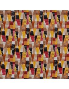 Tissu M1 non feu imprimé arlequin coloré