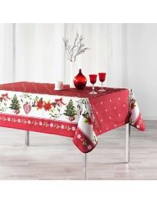 Nappe rectangulaire esprit de Noël