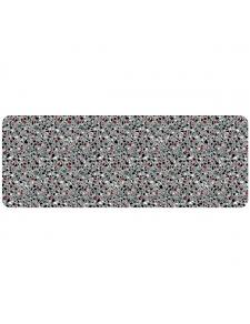 Tapis déco effet granit multicolore