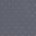 Rideau occultant à petites croix argentées en 3D (Gris Foncé)