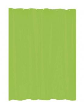 Rideau de Douche Uni Vert