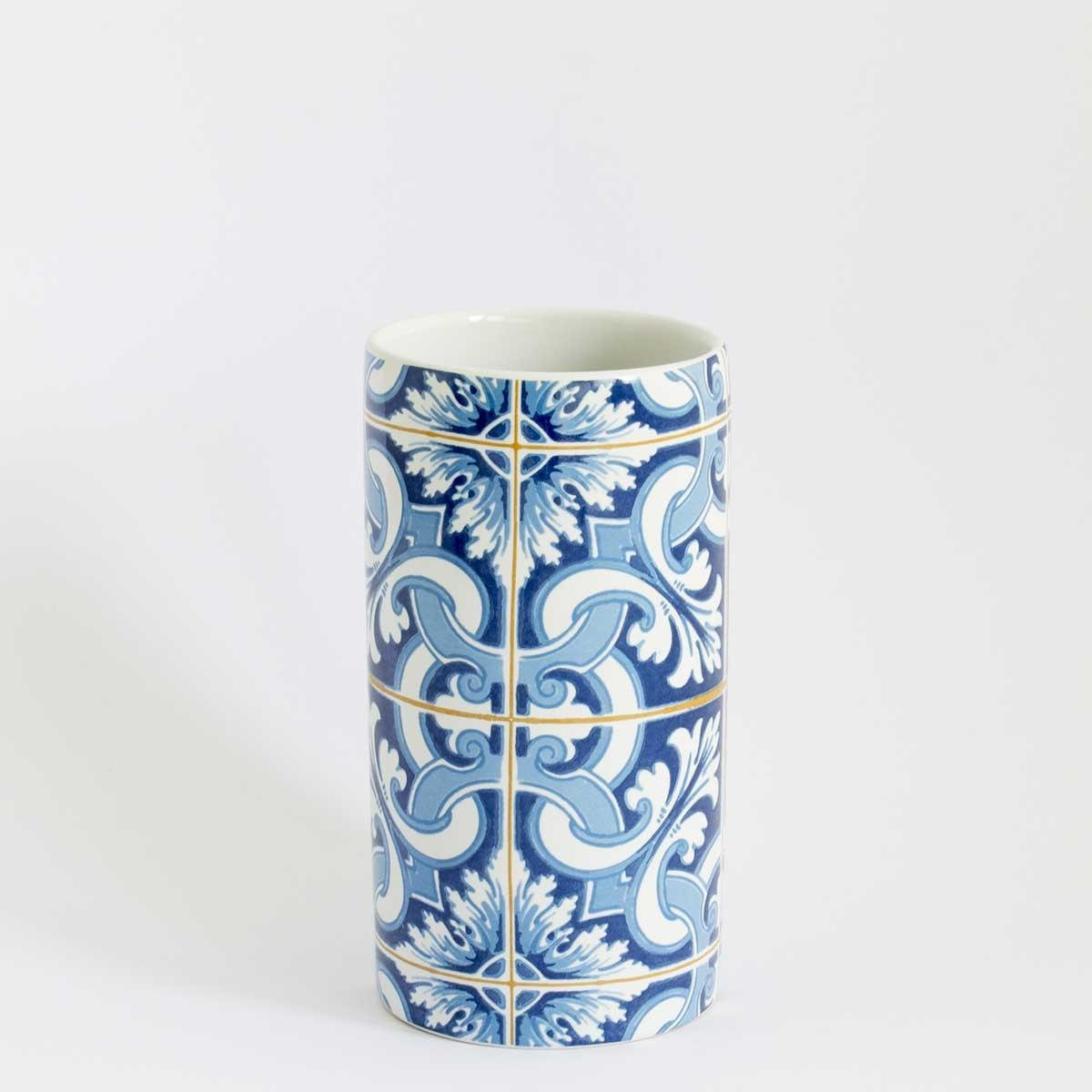Carrelage Bleu Nuit Salle De Bain ~ Gobelet Fresque Mosa Que Bleu Homebain Vente En Ligne Gobelets