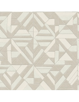 Papier peint mosaïque géométrique
