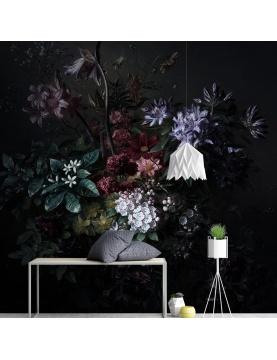 Vue panoramique d'une composition florale