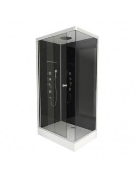 Cabine de douche avec système hydromassant