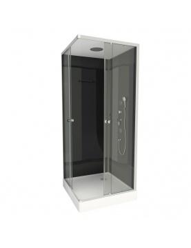 Cabine de douche en forme de carré