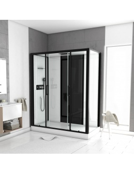 Cabine de douche LOFT à receveur haut