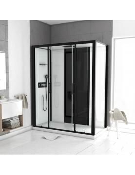 Cabine de douche LOFT à receveur bas