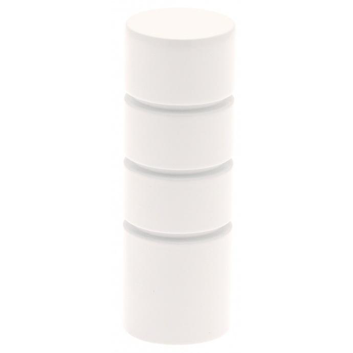 Zylinderformiger Ansatzstück für Gardinenstangen ø 20mm (Chrom Matt)