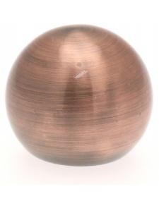 Par topes Bola para barra de cortina de ø 20mm (Cobre)