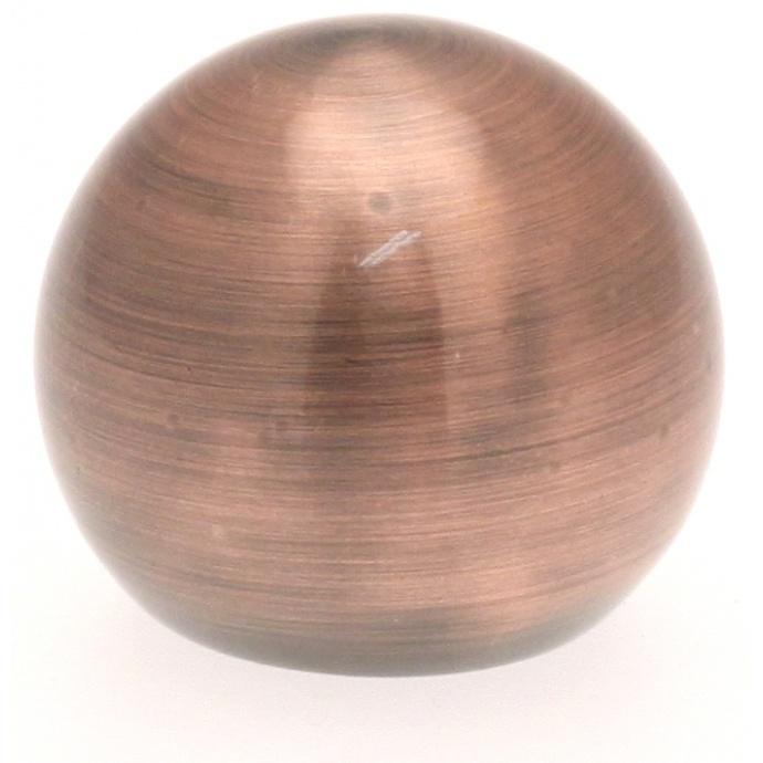 Paire Embouts Boule pour barre ø 20mm (Cuivre)