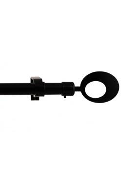 Kit tringle complet anneau design 120-200cm