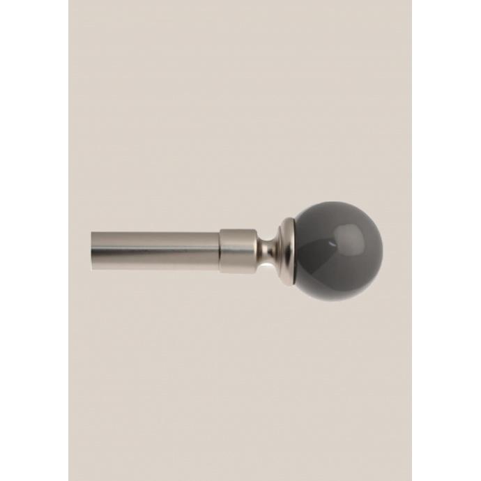 Kit Tringle complet Boule ext 120-210cm (Souris)