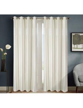 """Par de cortinas ocultantes estilo """"mármol"""""""
