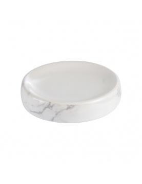 Porte savon en céramique effet marbre